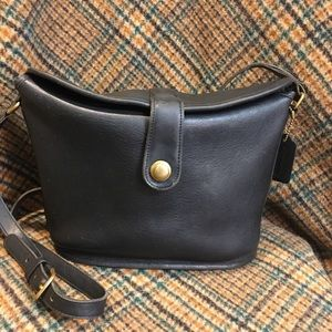 Coach Vintage Black Binocular Bag